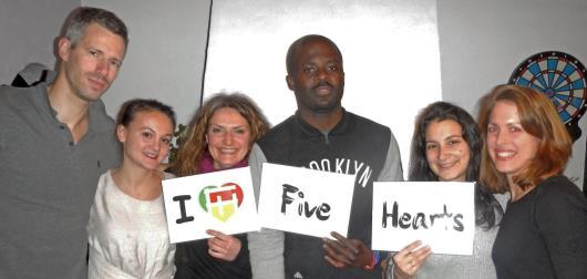 photo bureau FIVE HEARTS
